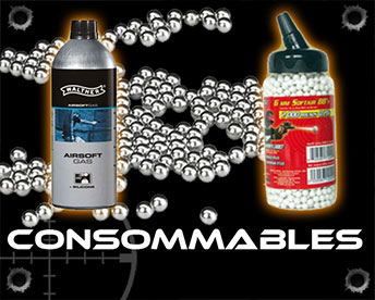 Consommables d'airsoft